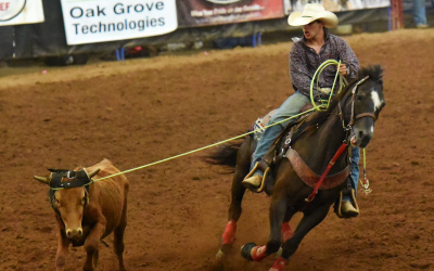 Team Roping At Its Best